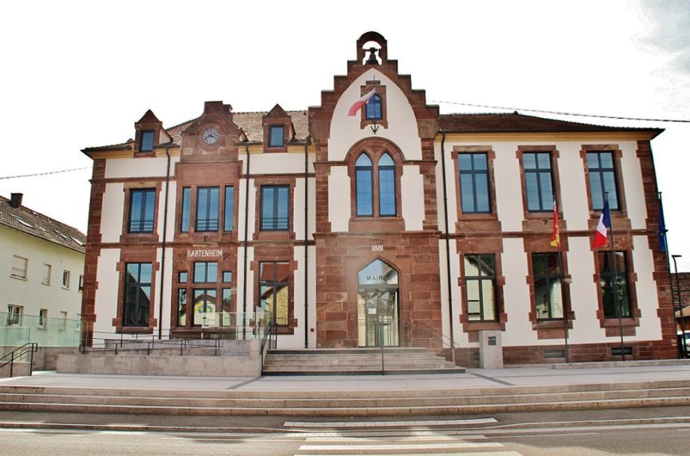 Photo à Bartenheim (68870) : La Mairie - Bartenheim, 319072 Communes.com