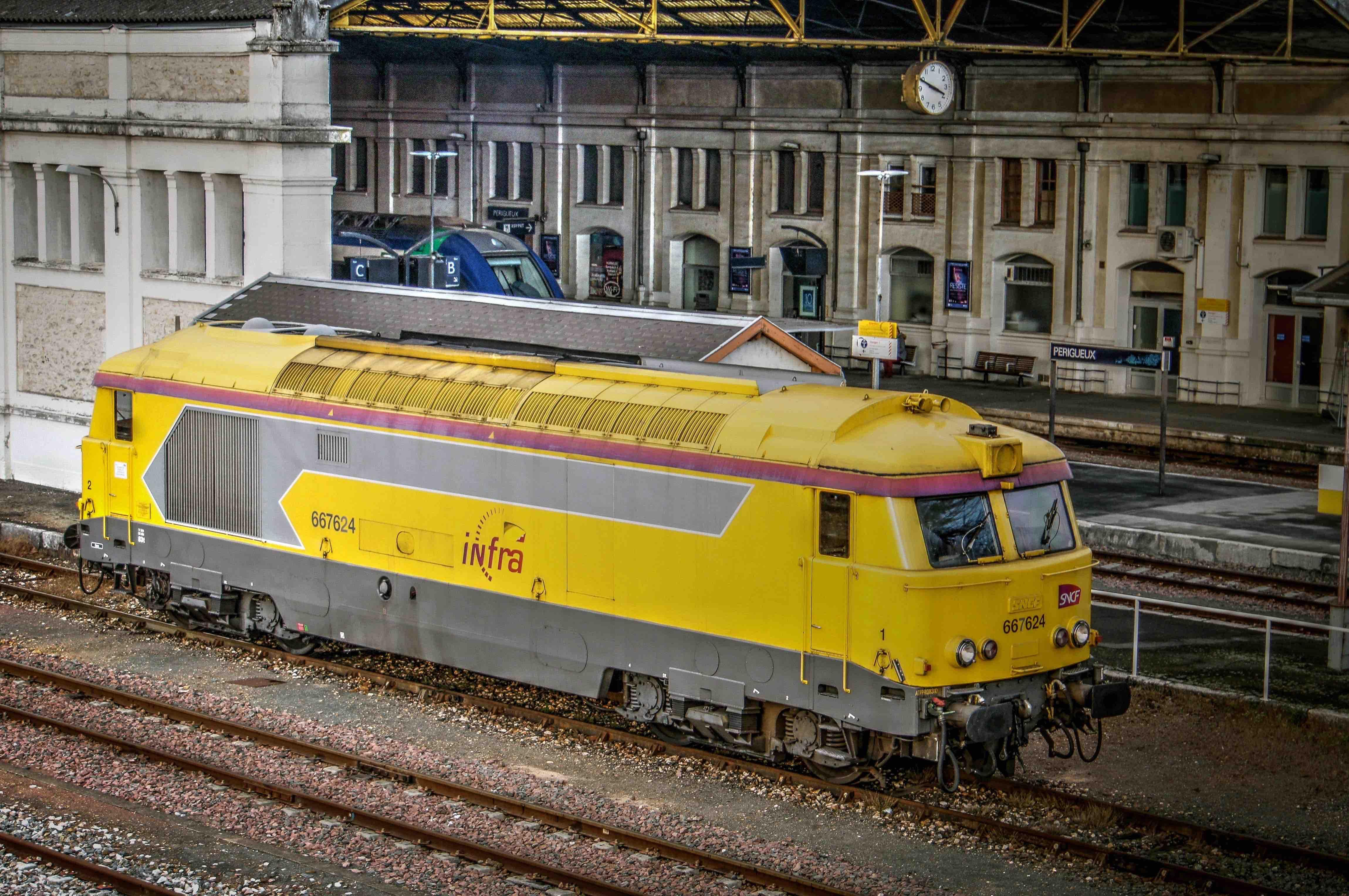 Photo p rigueux 24000 la gare p rigueux 288013 - Location voiture perigueux ...