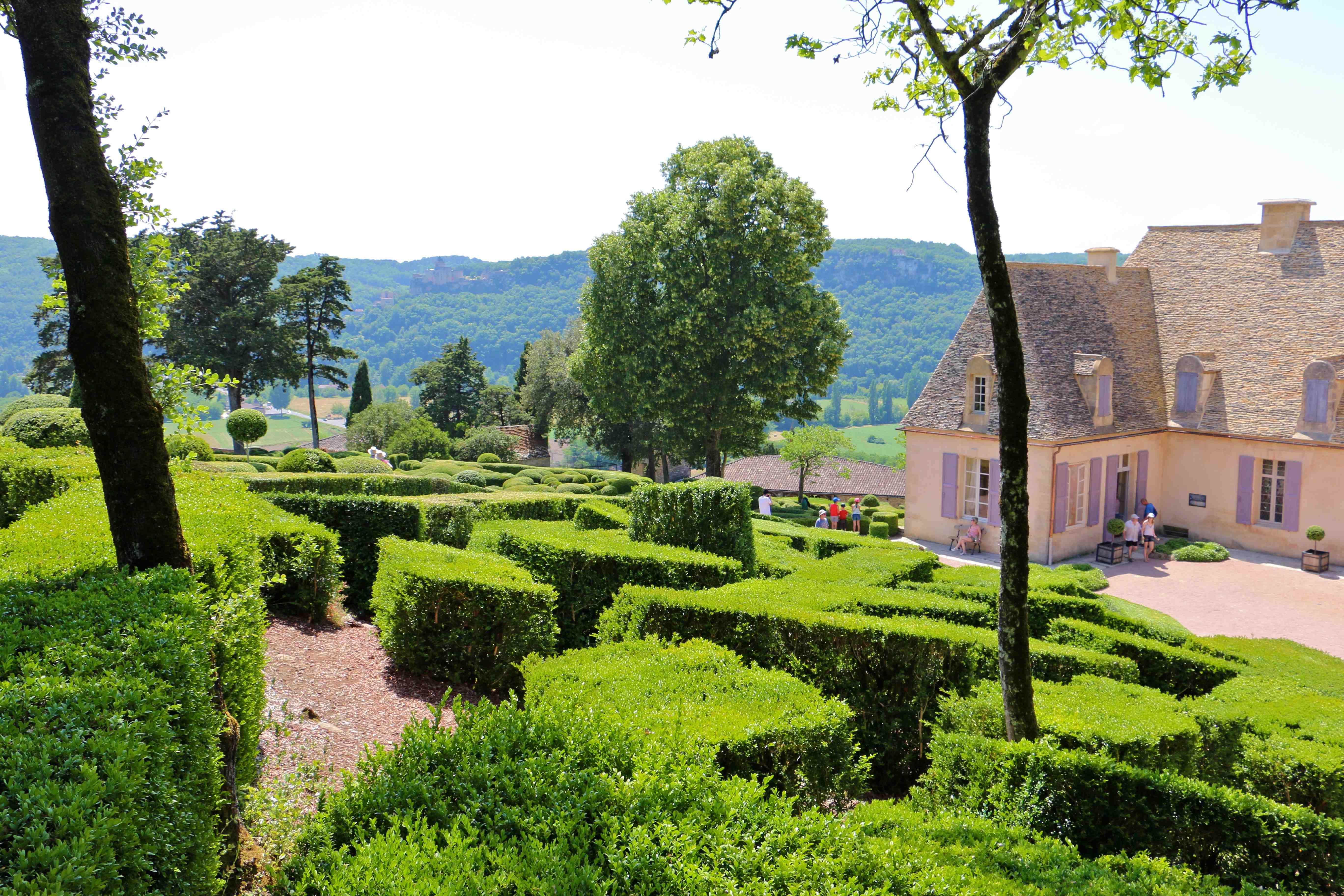 Photo v zac 24220 les jardins suspendus de marqueyssac v zac 237402 - Jardins suspendus de marqueyssac ...