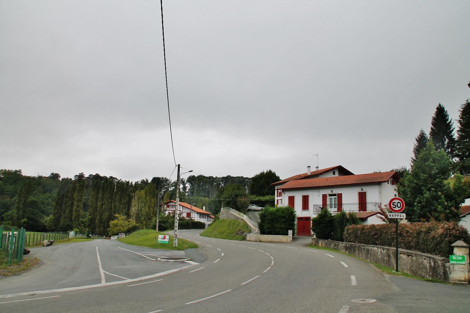 Plan Ville Cambo Les Bains