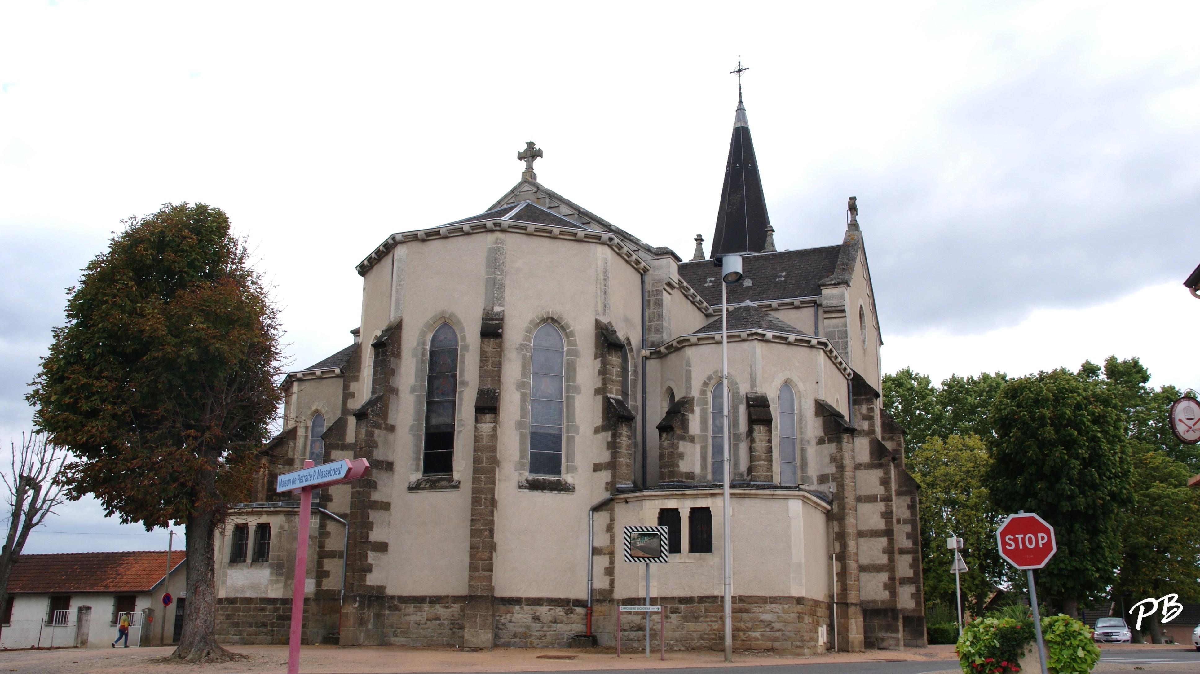 Photo bellerive sur allier 03700 glise st laurian for Architecture neo gothique