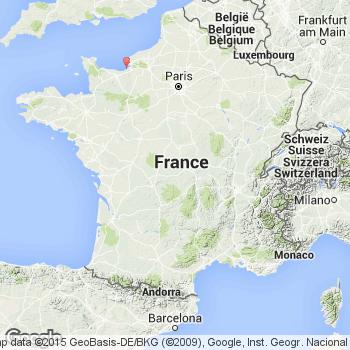 Deauville carte de France