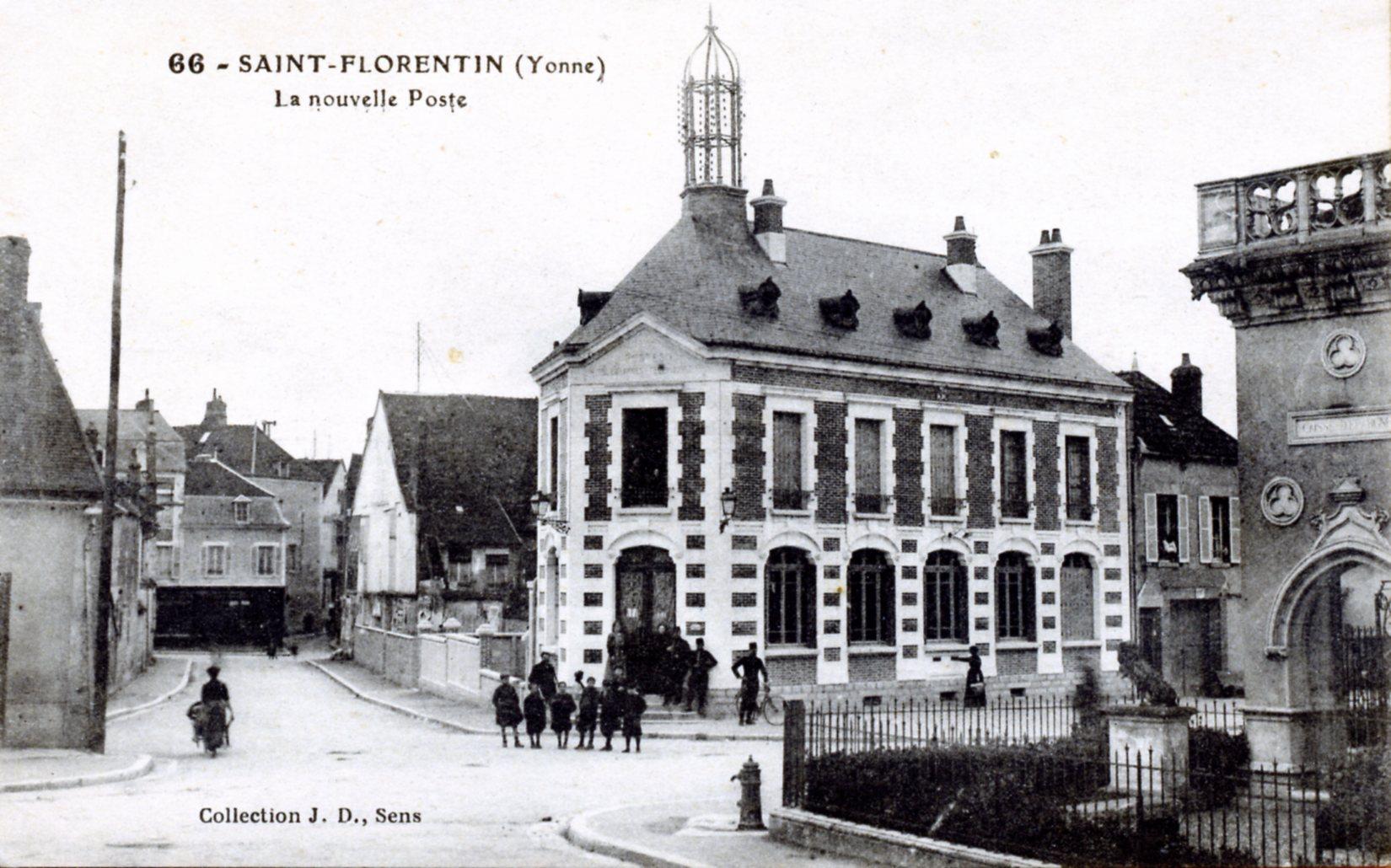 Plan Ville Saint Florentin