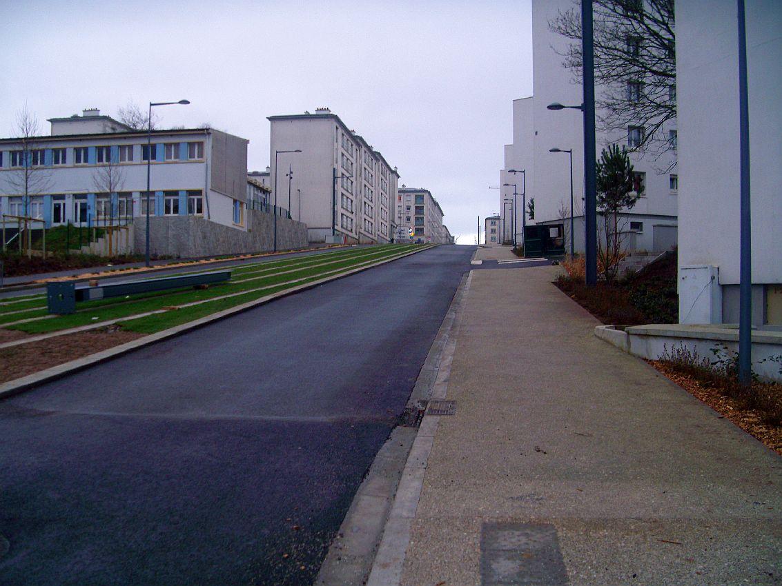 photo brest 29200 les travaux du tramway vers la place de strasbourg brest 123499. Black Bedroom Furniture Sets. Home Design Ideas