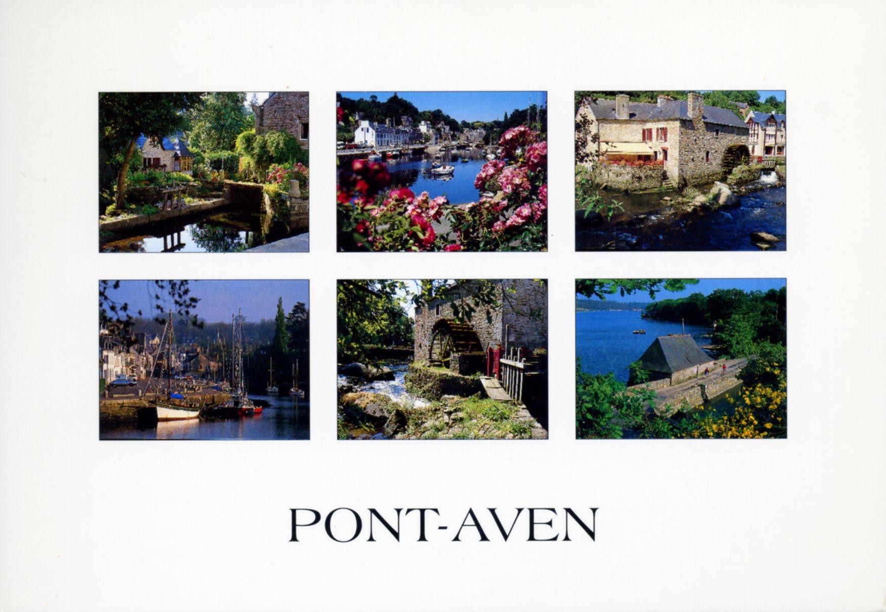 Photo A Pont Aven 29930 La Ville Des Meuniers Et Des