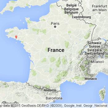Photo satellite Belz : Vue aérienne Belz 56550