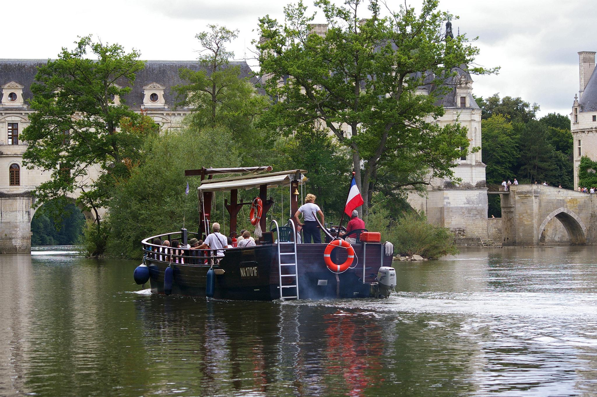 promenade bateau chenonceaux
