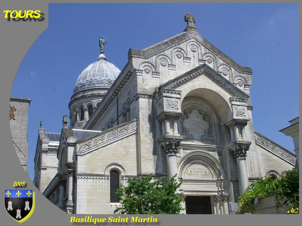 Photo tours 37000 basilique saint martin tours - Office de tourisme de tours indre et loire ...