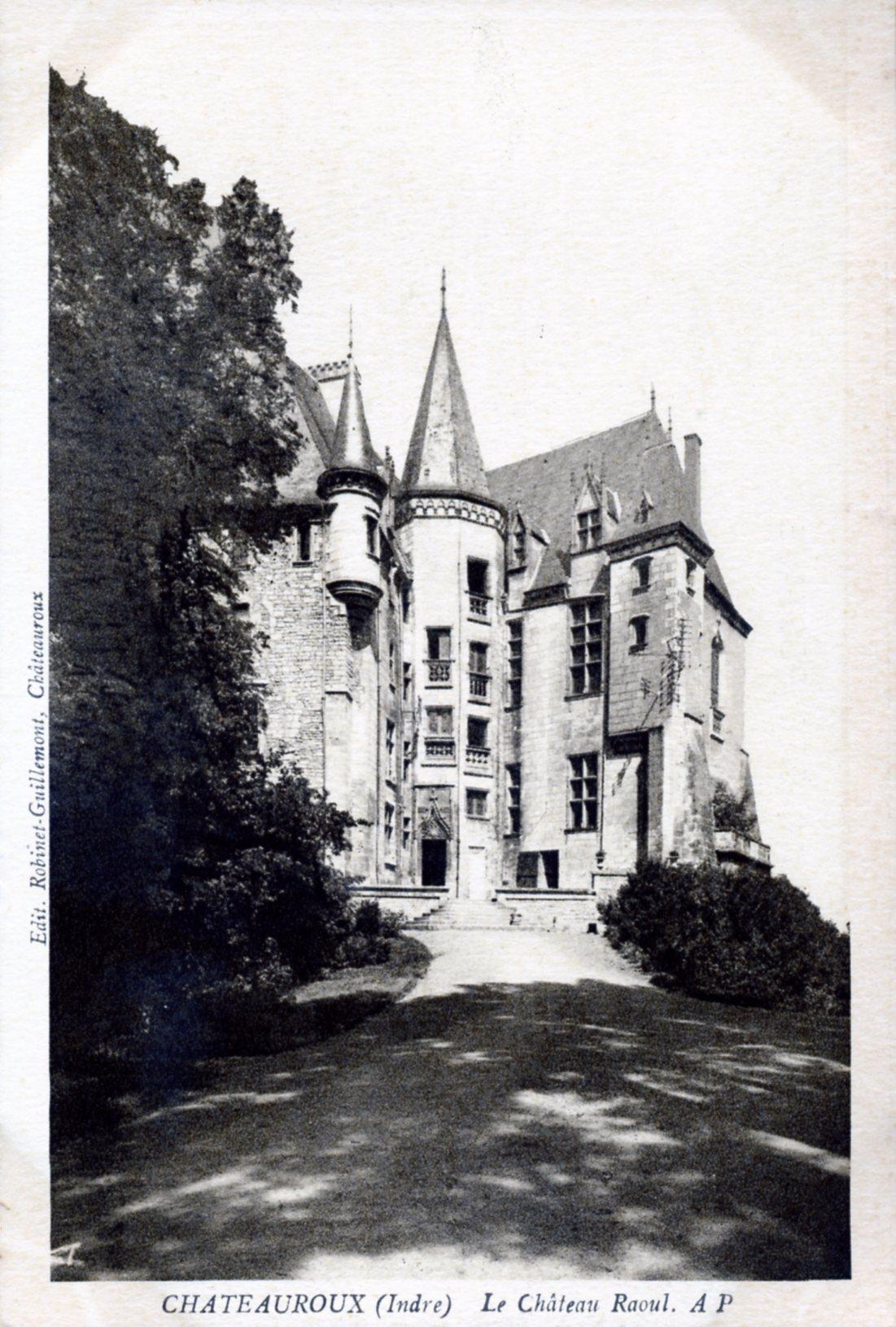 Photo ch teauroux 36000 le ch teau raoul vers 1930 - Meteo le poinconnet ...