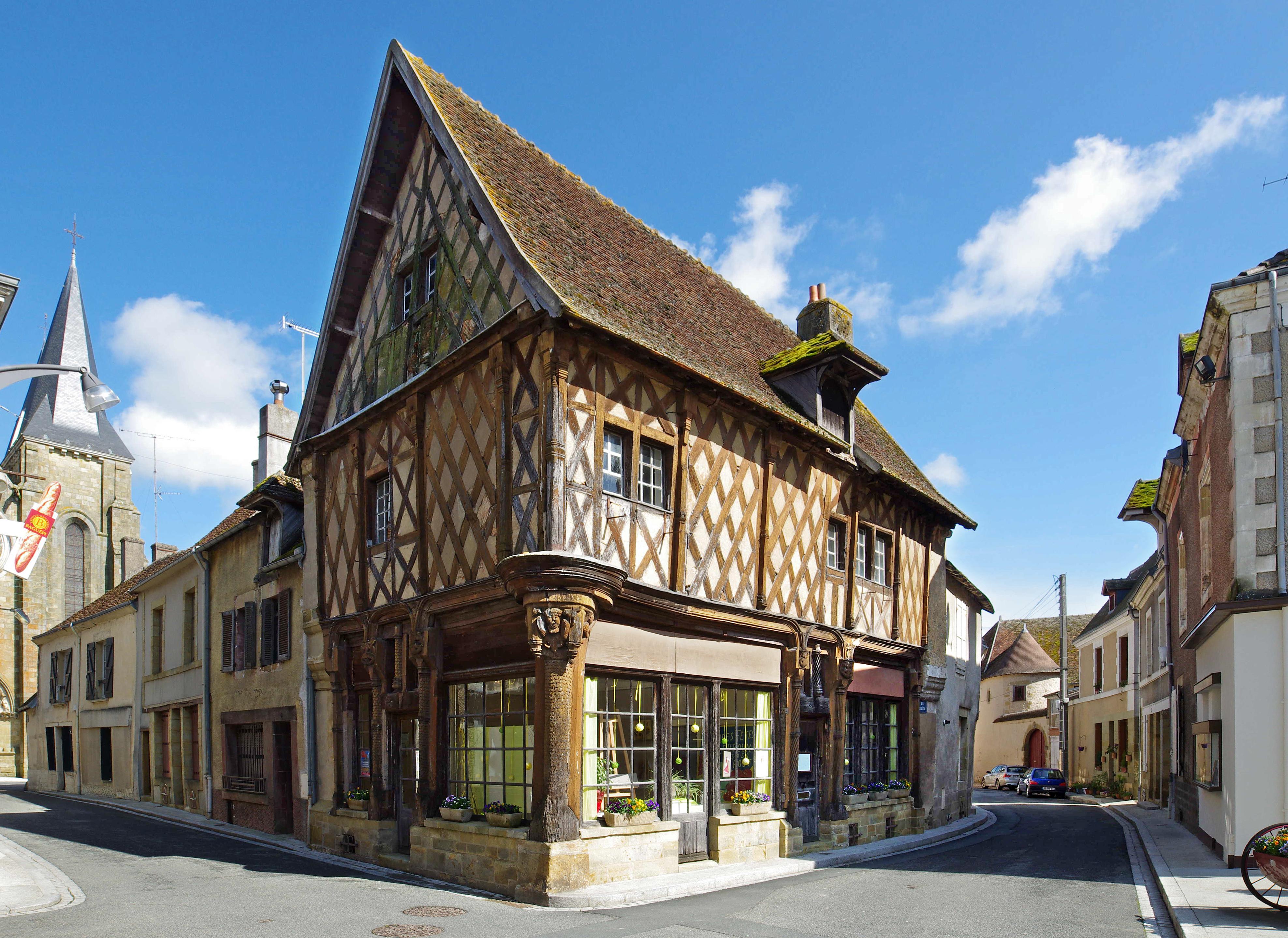 Maison du bois site historique et militaire du bois le for Maison ville du bois