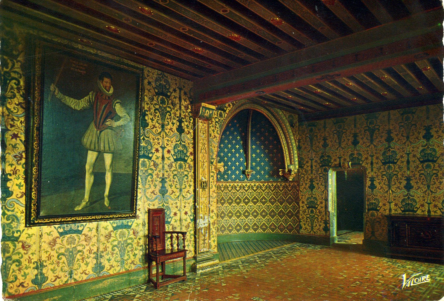 Photo blois 41000 le ch teau chambre du roi henri for Chambre des metiers blois