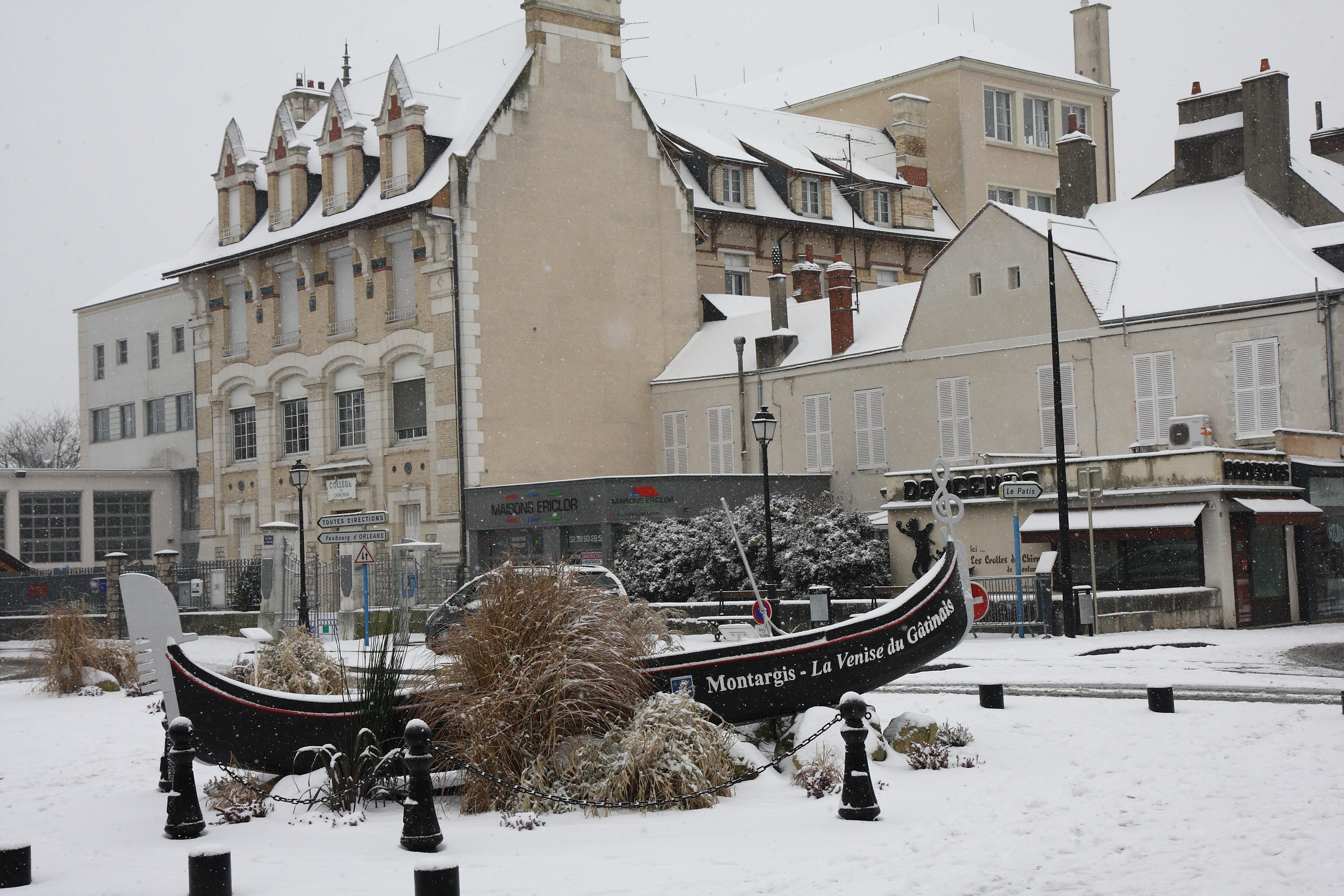 Photo montargis 45200 la neige montargis 176468 for Plan de montargis