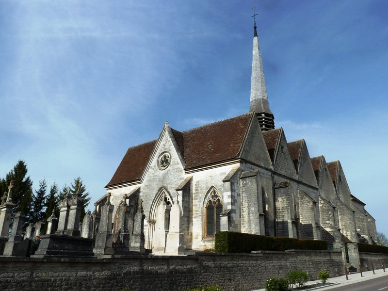 Photo creney pr s troyes 10150 l 39 glise creney for Creney pres troyes