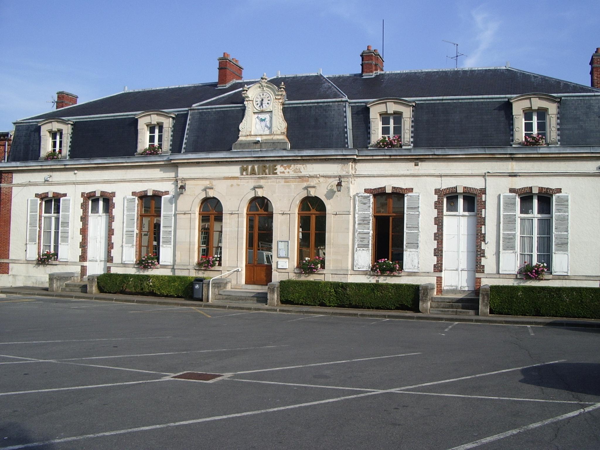 Photo pierry 51200 mairie de pierry 184681 for Leclerc pierry