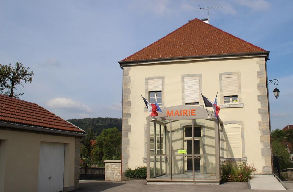 mairie du vaudioux jura