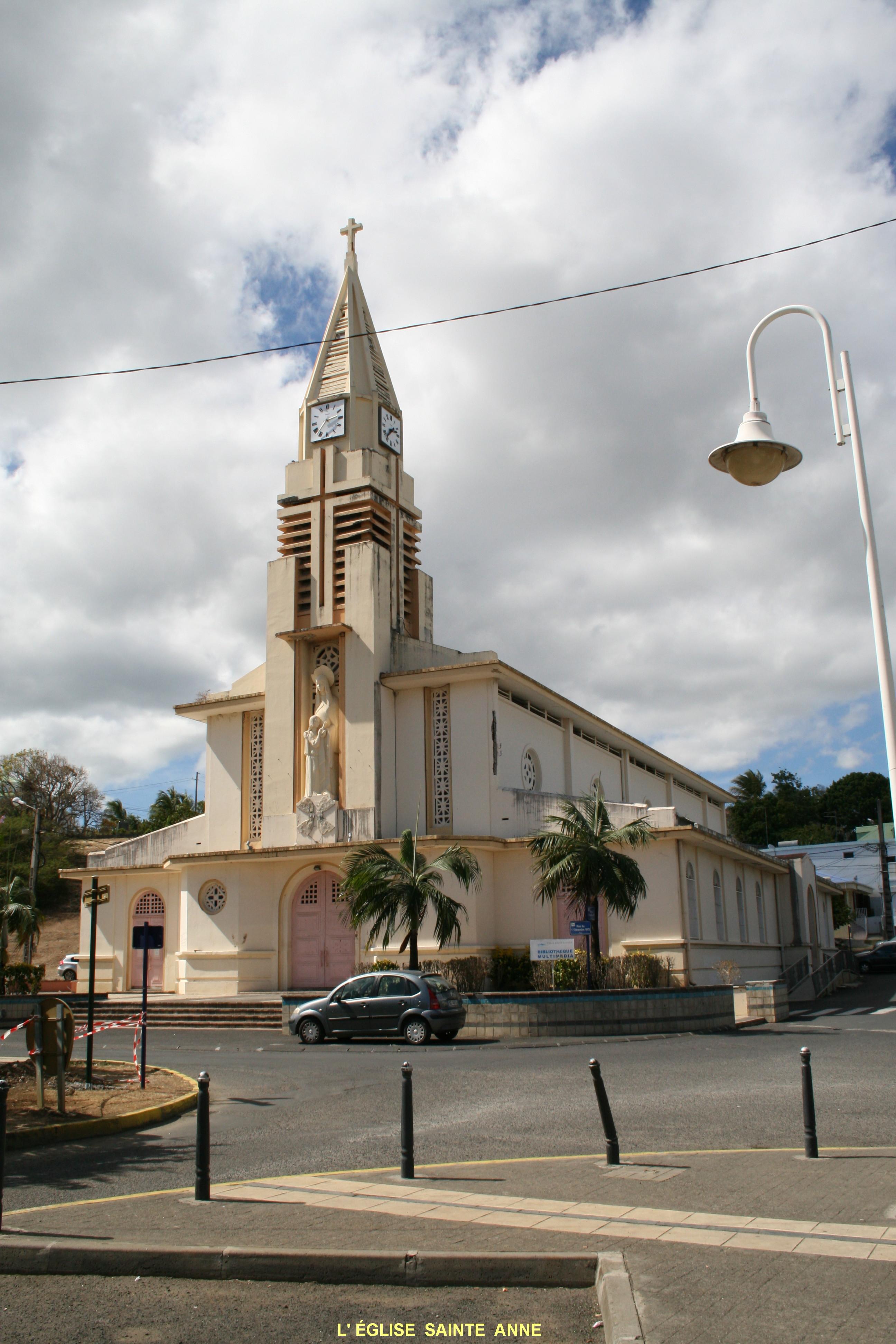 Photo sainte anne 97180 eglise st anne sainte anne - Sainte anne guadeloupe office du tourisme ...
