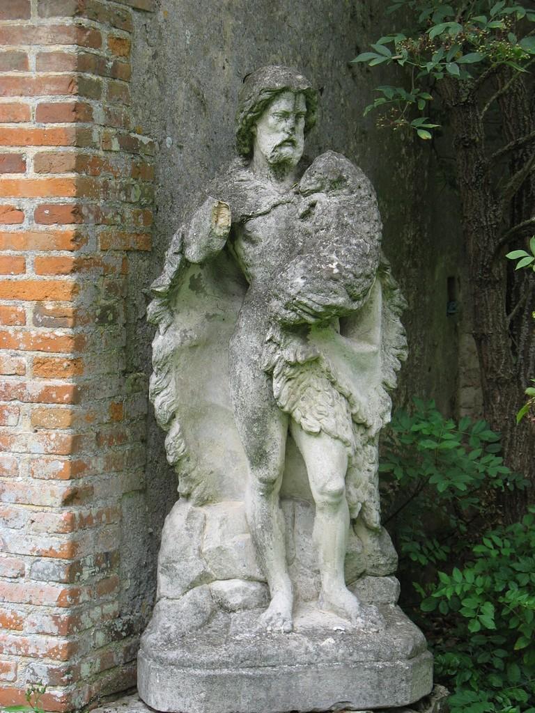 Photo chaise dieu du theil 27580 statue de saint for Chaise dieu du theil