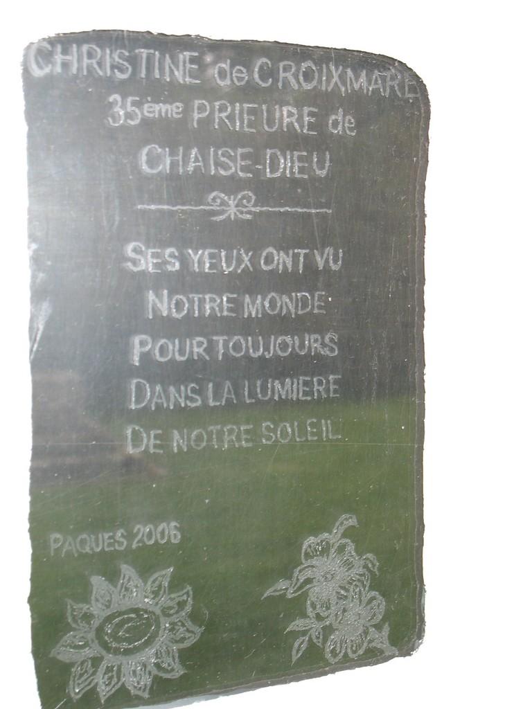 Photo chaise dieu du theil 27580 plaque for Chaise dieu du theil
