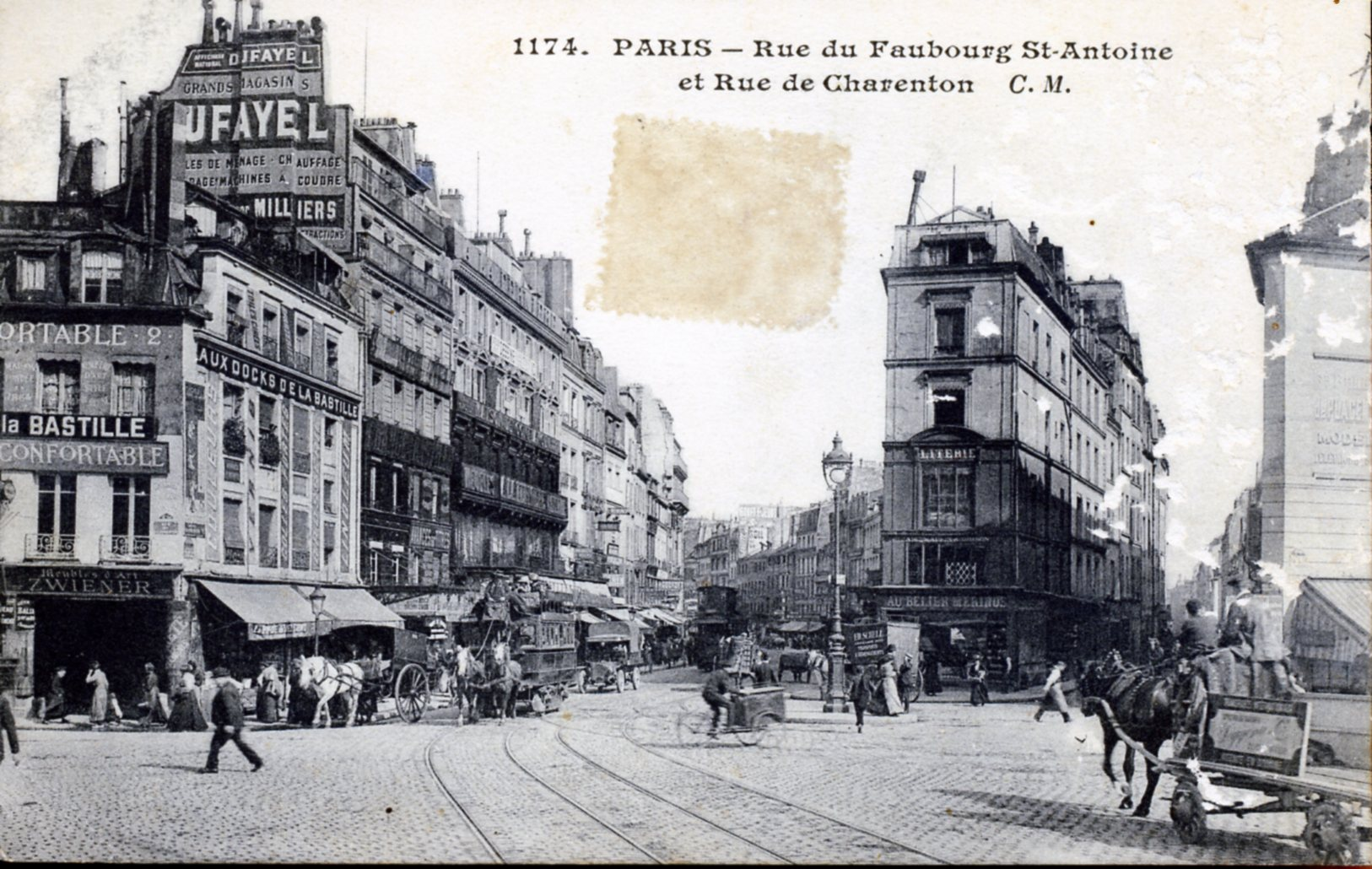 Photo paris 11e arrondissement 75011 rue du fg saint for Hotel 11 arrondissement paris