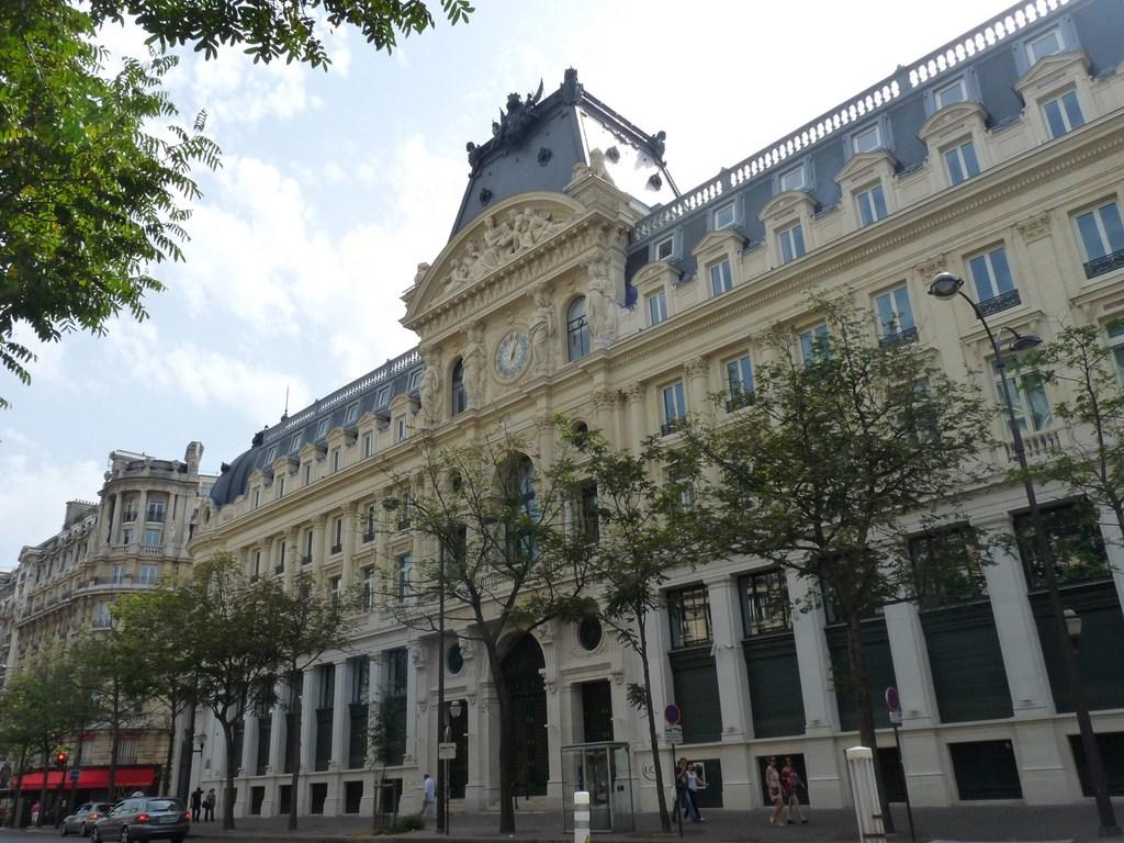photo paris 2e arrondissement 75002 si ge du cr dit lyonnais paris 2e arrondissement. Black Bedroom Furniture Sets. Home Design Ideas