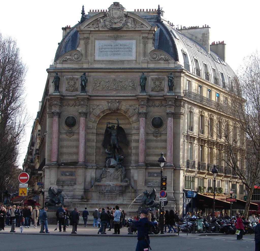 Photo à Paris 5e Arrondissement (75005) : La Fontaine