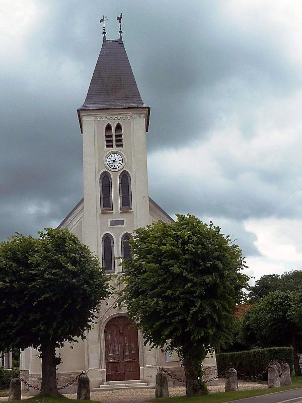 Photoà Le Plessis aux Bois (77165) L'église Le Plessis aux Bois, 328817 Communes com # Le Plessis Aux Bois