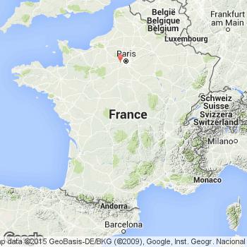 Plan trappes et carte de la ville trappes 78190 for Lieux touristiques yvelines