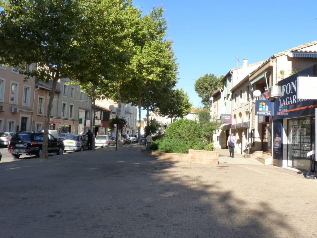 Plan Ville Lezignan Corbieres