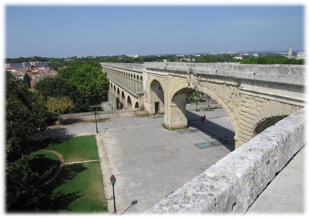 Photo montpellier 34000 aqueduc du peyrou for Montpellier 34000
