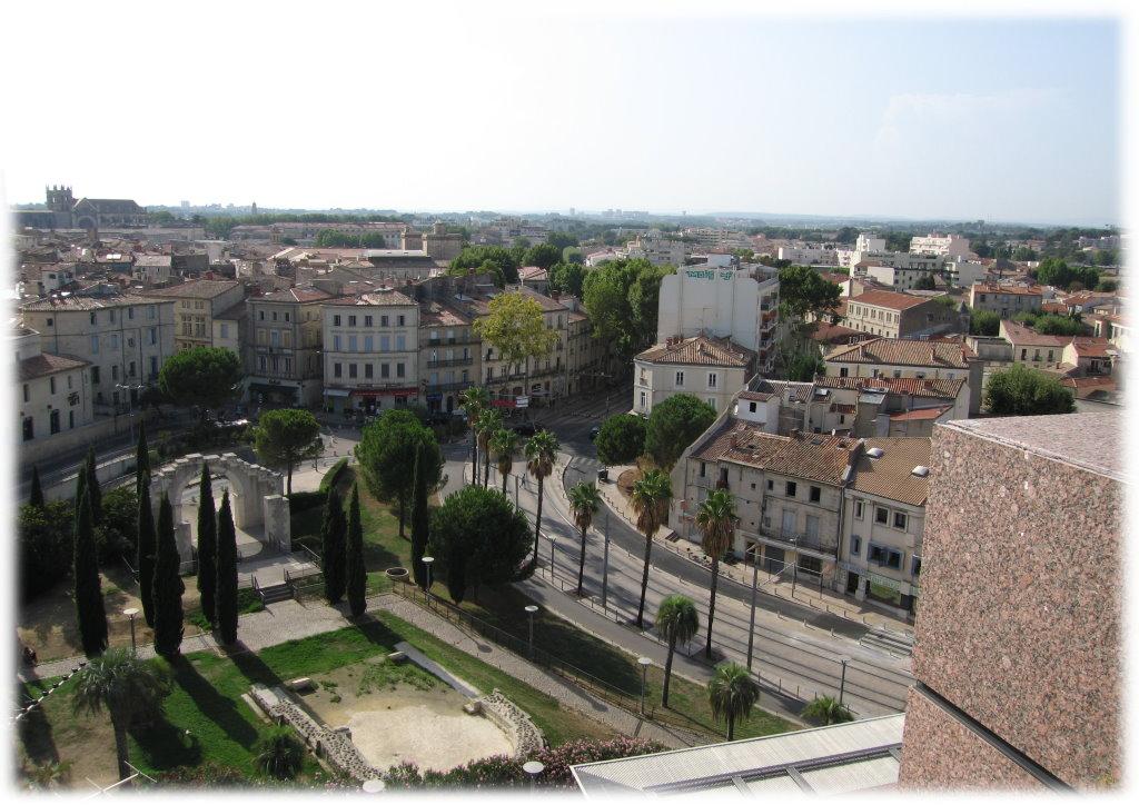 Photo montpellier 34000 depuis le toit du corum for Montpellier 34000