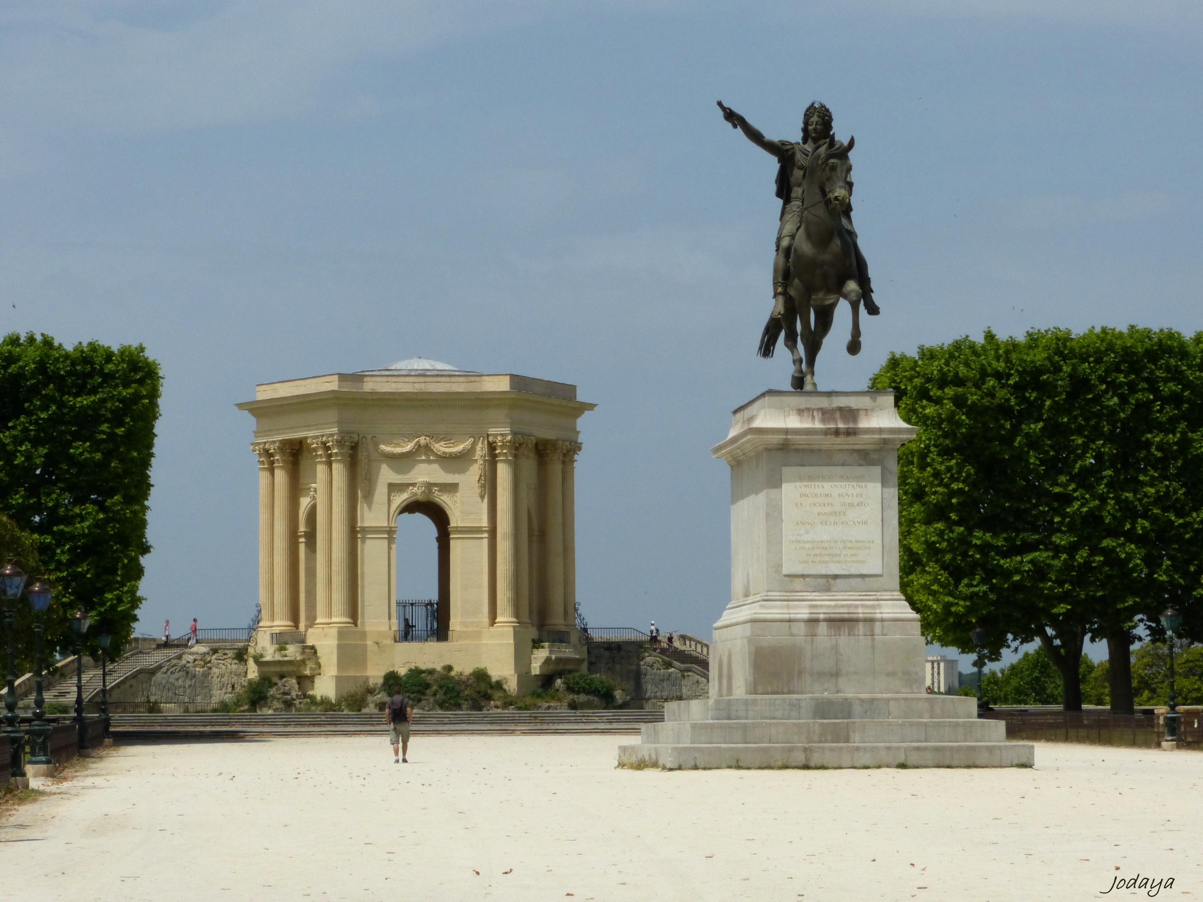 Photo montpellier 34000 montpellier promenade du for Montpellier 34000