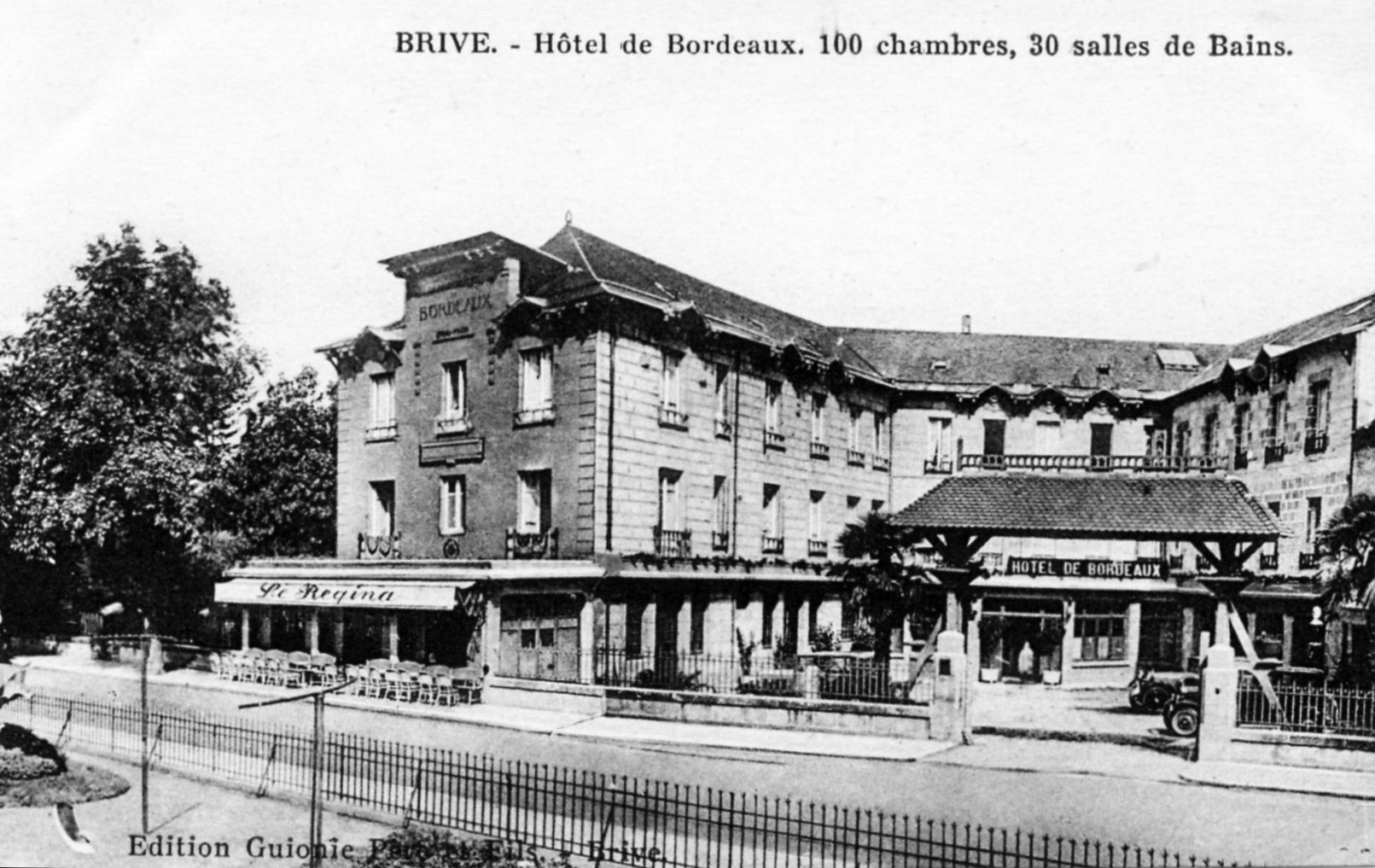 Photo brive la gaillarde 19100 h tel de bordeaux for Plan ville de brive la gaillarde 19100