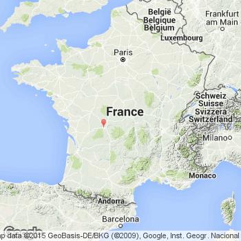 Photo satellite SaintGence Vue arienne SaintGence 87510