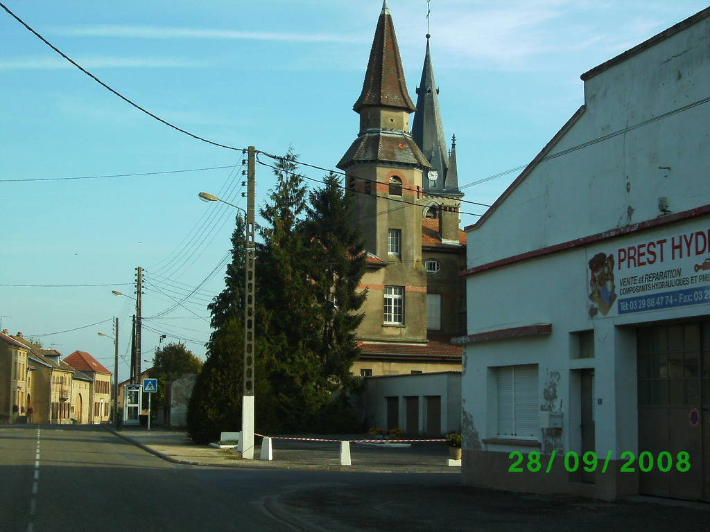 Lorraine Location Ville En Woevre