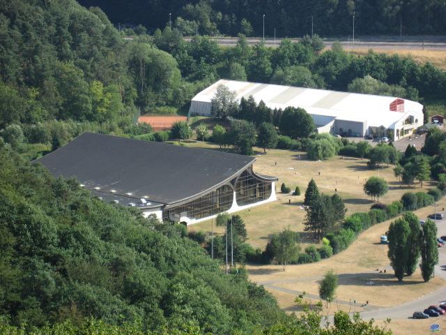 Photo forbach 57600 piscine et tennis couvert du val for Piscine lorraine
