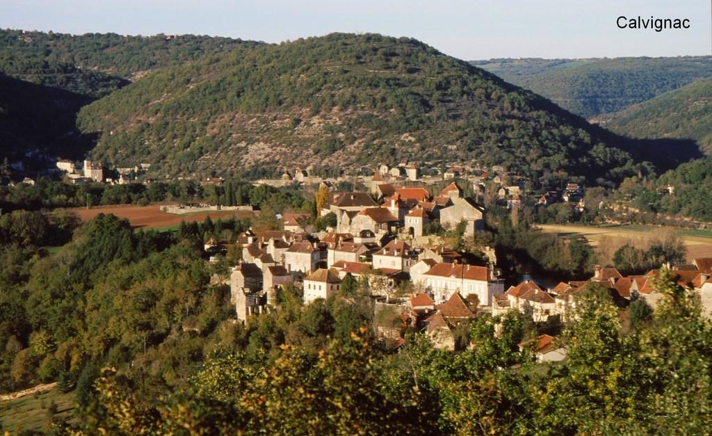 Mairie de Calvignac, la Commune de Calvignac et son village (46160)