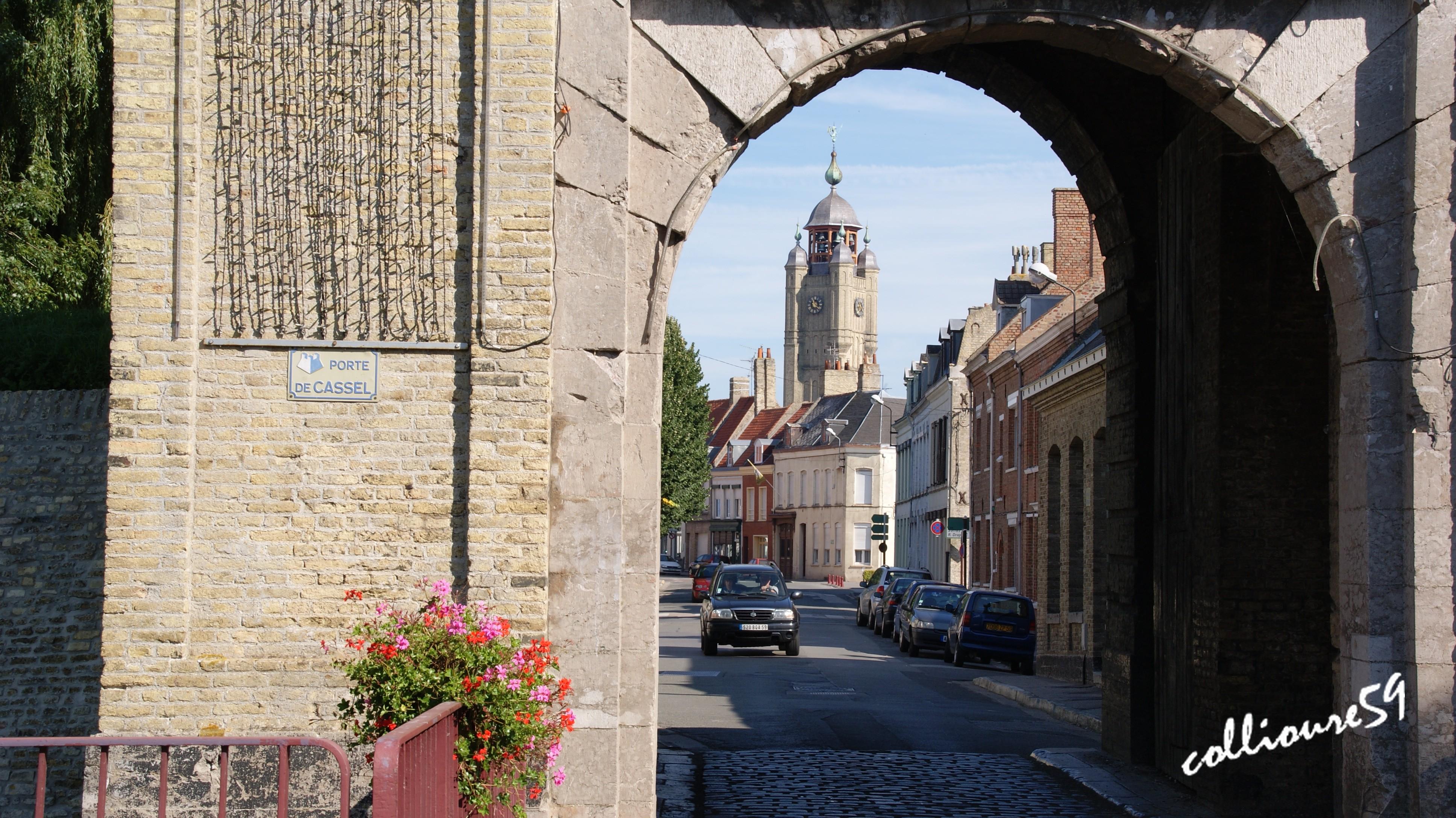 Photo bergues 59380 porte d 39 entr e du village - Restaurant bruay porte nord ...