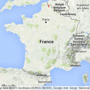 Plan lens et carte de la ville lens 62300 - Les jardins du louvre loos en gohelle ...