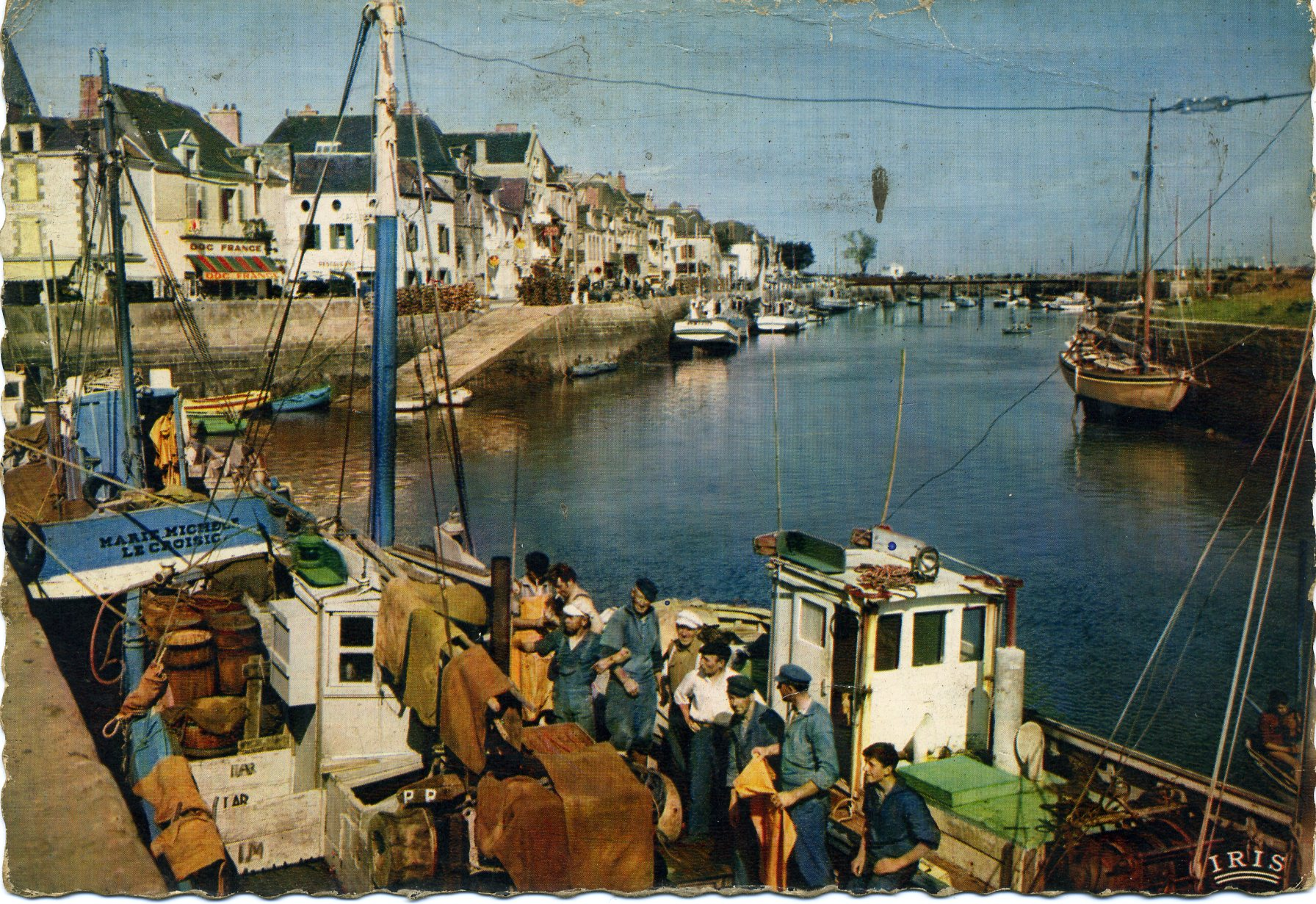 Photo le croisic 44490 le port carte postale de for La chaloupe le croisic