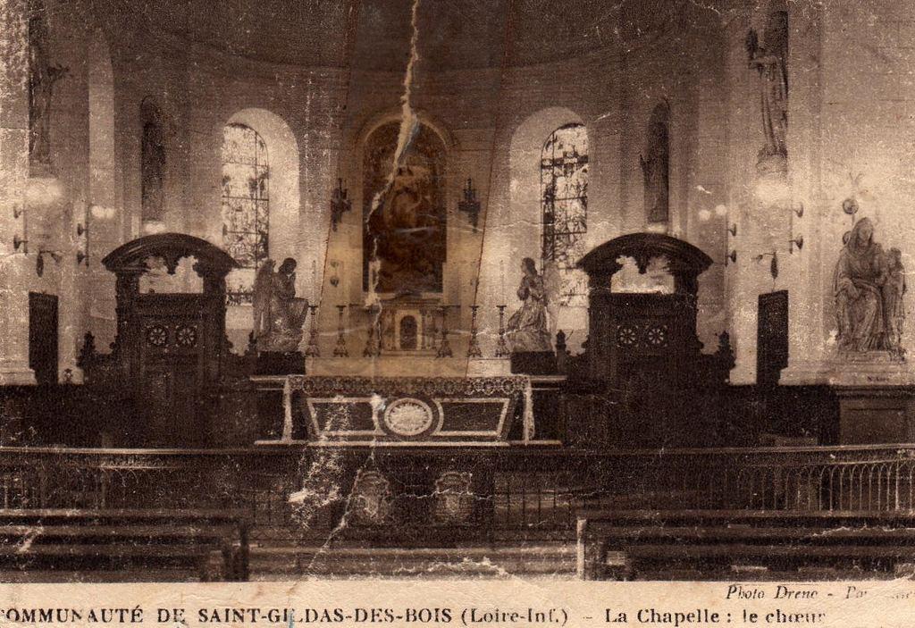 photo saint gildas des bois 44530 chapelle de la. Black Bedroom Furniture Sets. Home Design Ideas