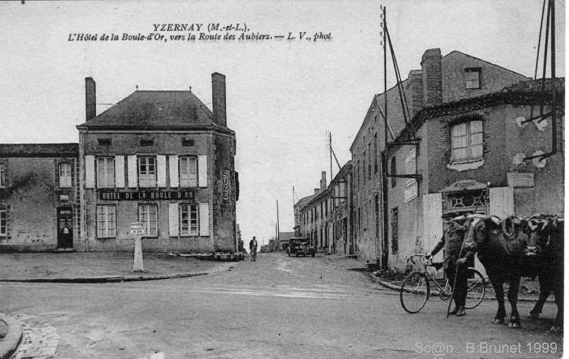 Villes et villages en cartes postales anciennes .. - Page 23 Yzernay_12392_yzern004