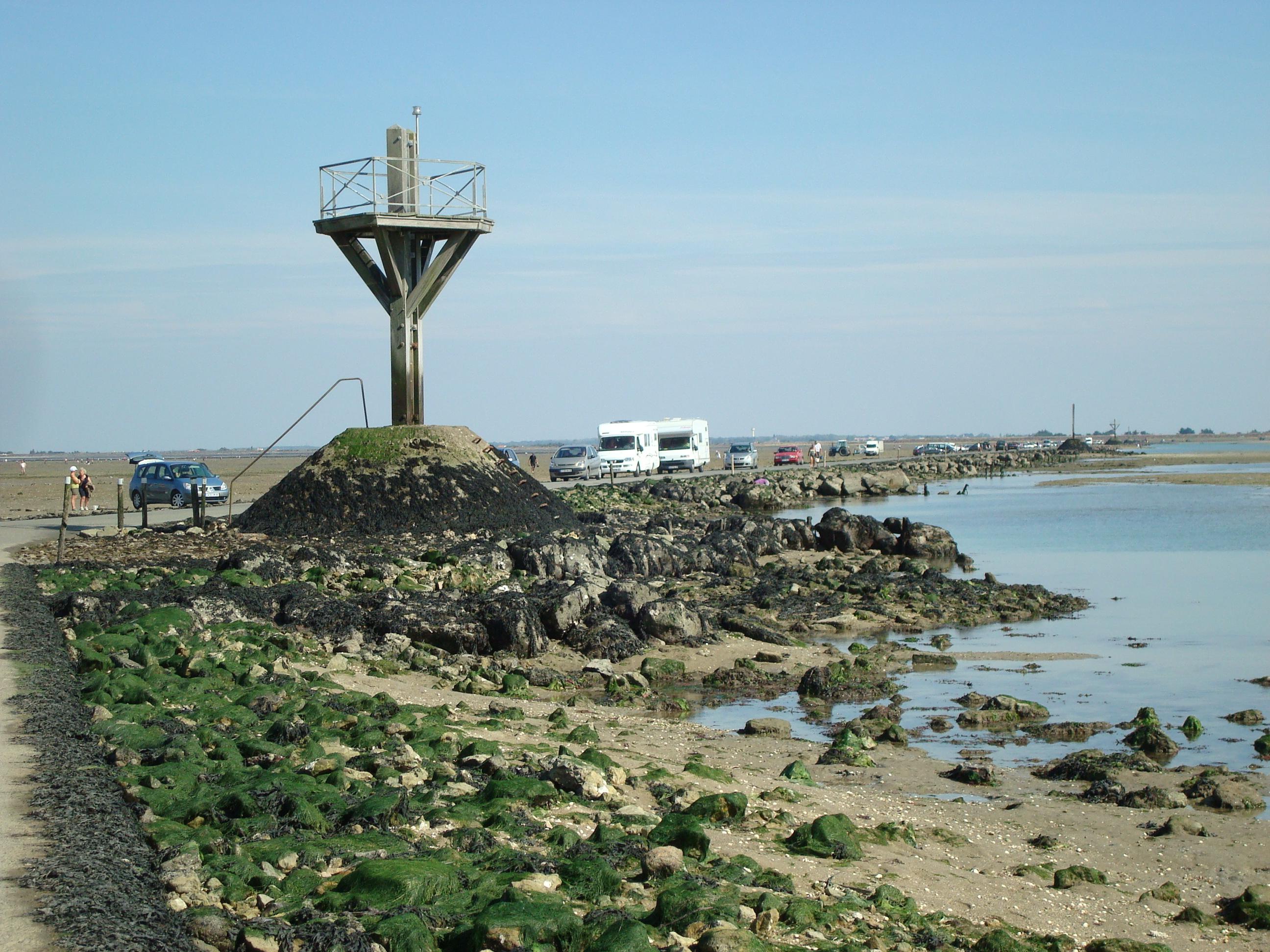 Photo noirmoutier en l 39 le 85330 passage du gois - Office de tourisme noirmoutier en l ile vendee ...