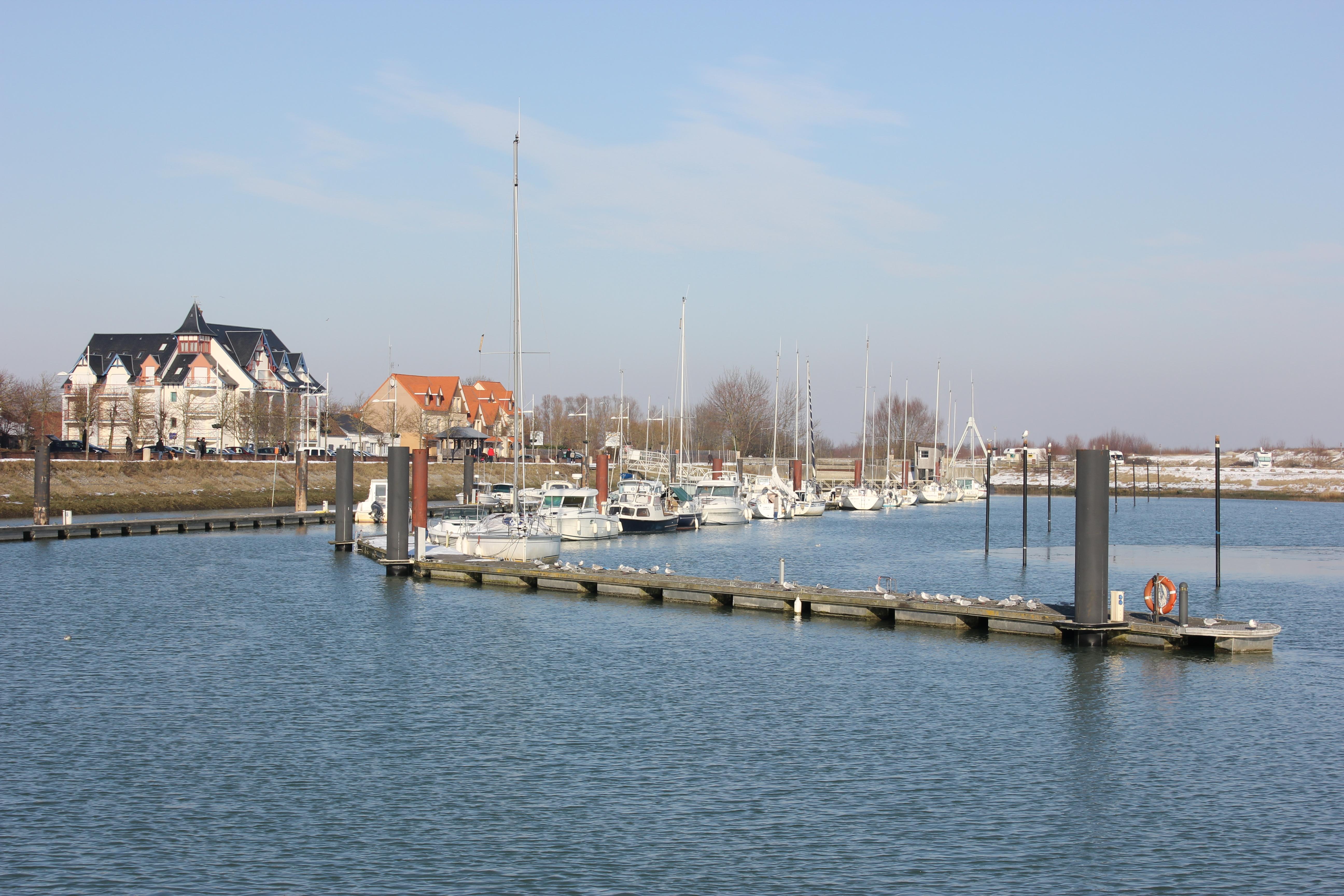 Photo le crotoy 80550 port de plaisance le crotoy 123762 - Restaurant du port le crotoy ...