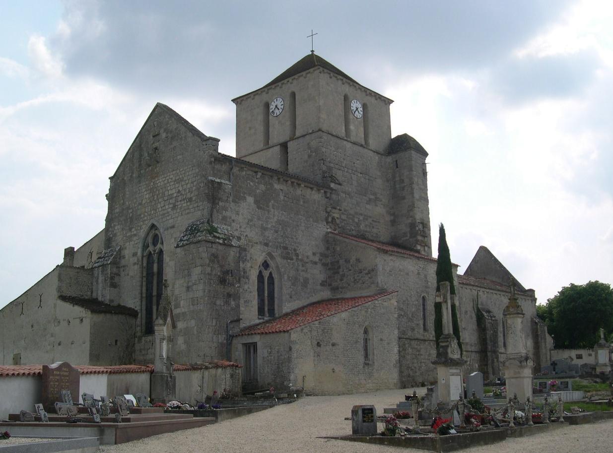 Photoà Saint Saturnin du Bois (17700) L'Eglise Saint Saturnin du Bois, 64413 Communes com # St Saturnin Du Bois