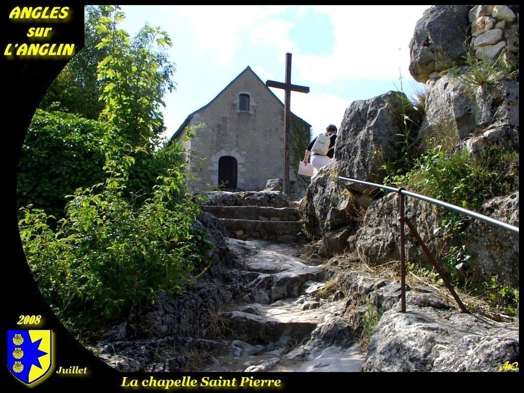 Photo angles sur l 39 anglin 86260 la chapelle saint - Office de tourisme angles sur l anglin ...