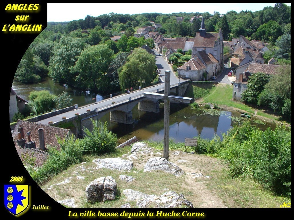 Photo angles sur l 39 anglin 86260 la ville basse - Office de tourisme angles sur l anglin ...