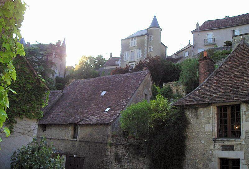 Photo angles sur l 39 anglin 86260 maisons du village - Office de tourisme angles sur l anglin ...