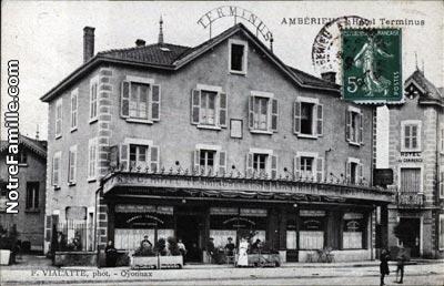 Plan De Amberieu En Bugey 01500