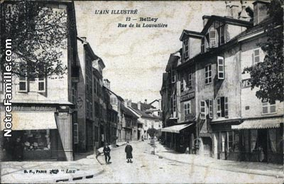 Photos et cartes postales anciennes de belley 01300 for Plan de belley