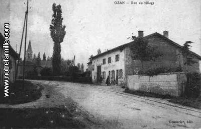 Plan De La Ville D Ozan